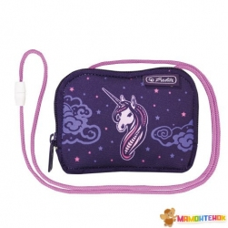 Кошелек детский Herlitz Crossbody Unicorn Night