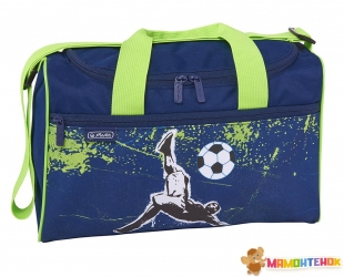 Сумка спортивная Herlitz Sportbag XL Kick It Футбол (50021901)