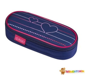 Пенал Herlitz Case Flap Heartbeat Сердце (50021178)