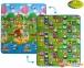Детский двусторонний коврик Limpopo Солнечный день и Цветные циферки 150х180см (LP003-150)